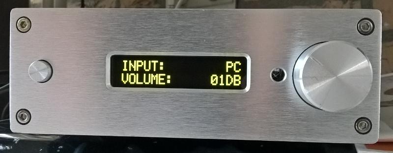 Yang Jing pga2311 volume control